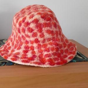 Festival felt wool hat